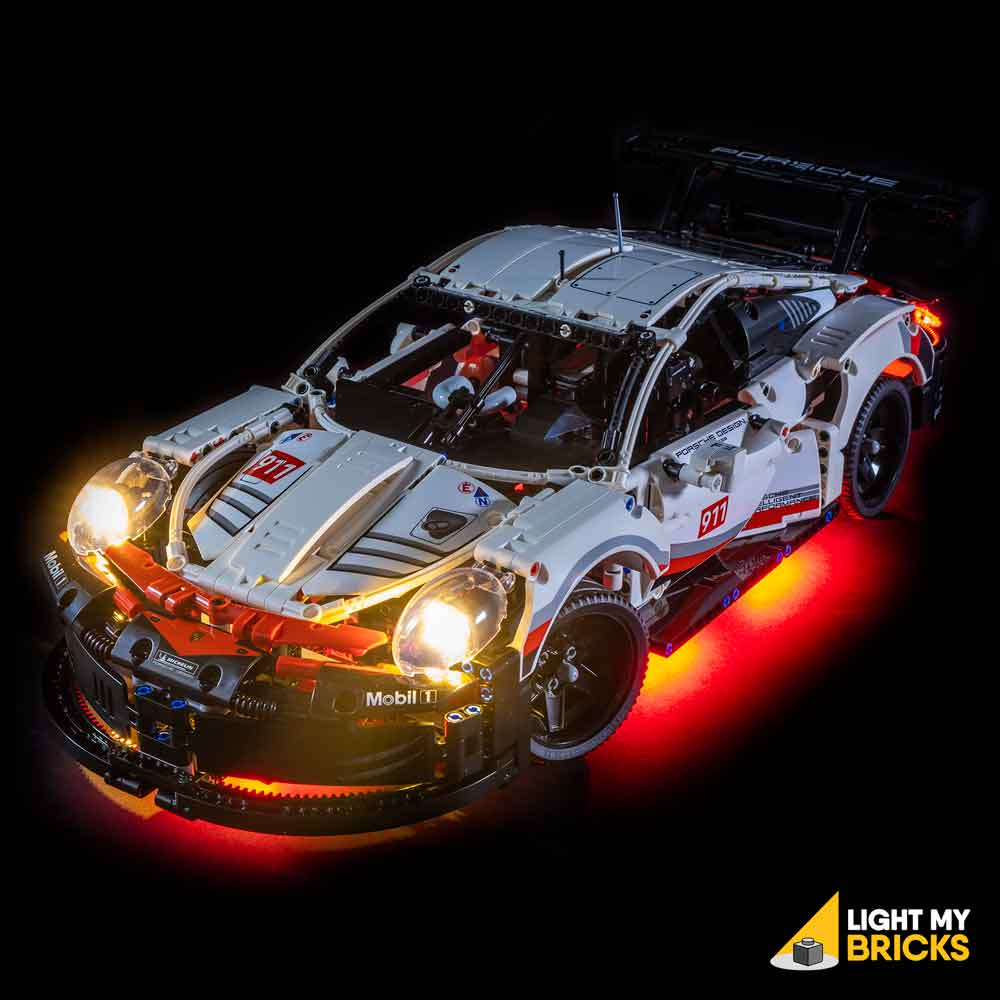 LED Light Lighting Kit ONLY For Lego 42096 Technic Porsche 911 RSR Bricks