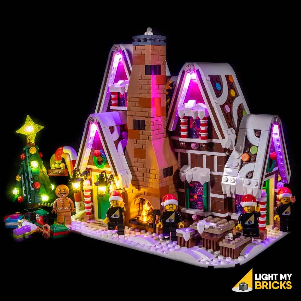 Light My Bricks Lego Gingerbread House 10267 Lighting Kit Light My Bricks